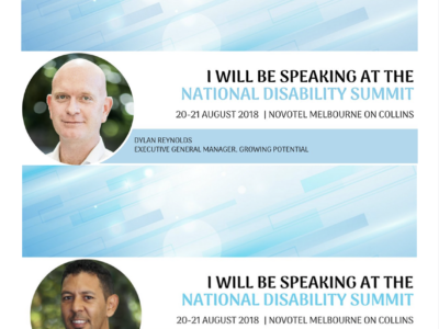 Speakers At National Disability Summit