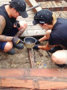 Tradie Ladies Finding Bugs At Children First