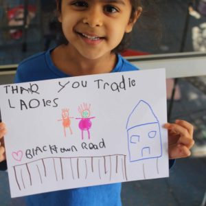 Children First Thanks The Tradie Ladies